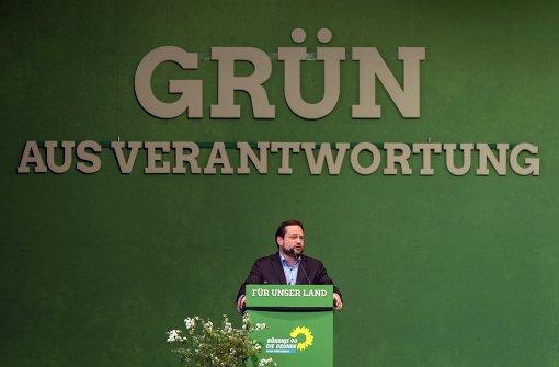 Viel Applaus für scheidenden grünen Minister