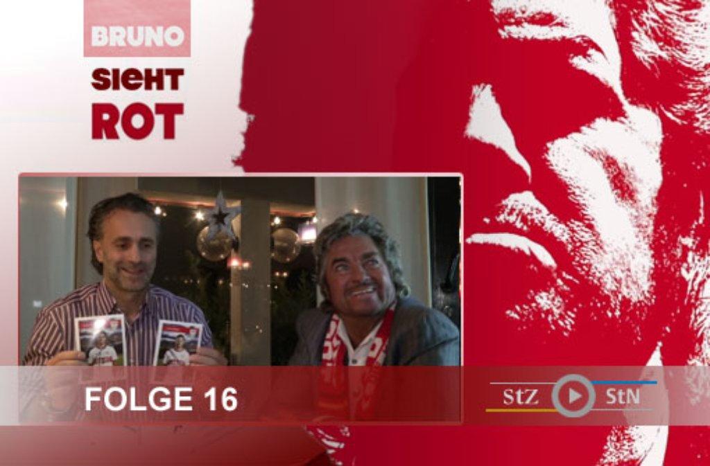 Zum Dreh der 16. Folge von Bruno sieht rot hat sich Bruno Stickroth mit Maurizio Gaudino getroffen. Hier ein paar Bilder: Foto: SIR