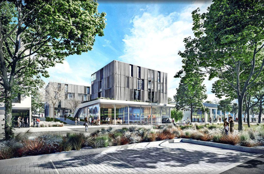 So könnte der Gesundheitscampus einmal aussehen. Foto: blocher partners Stuttgart