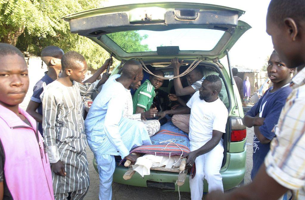 Erst vergangene Woche hatte es einen Selbstmordanschlag in Nigeria gegeben (Archivfoto). Foto: AP Photo/Jossy Ola