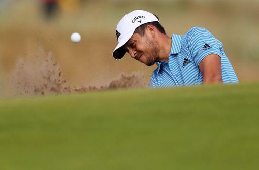 Der Golf-Star mit Namen Schauffele