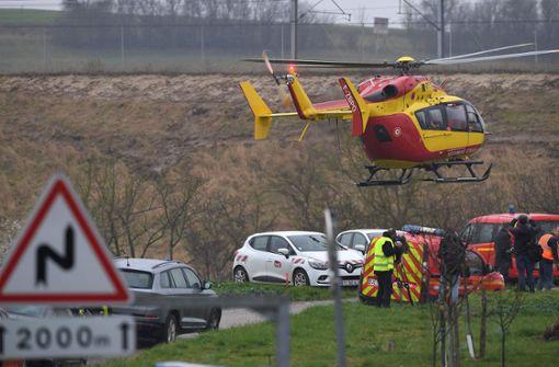 Zahlreiche Verletzte bei TGV-Unfall im Elsass