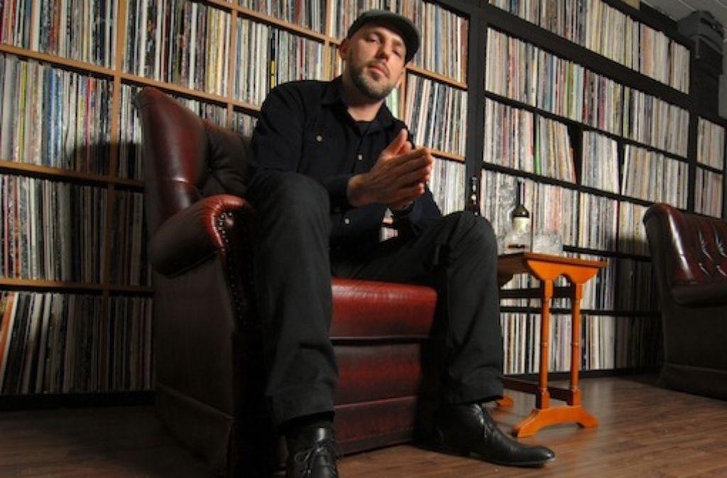 Kolchose, 0711 Club, eigene Radiosendung und  Betreiber des Plattenladens Sound Shop - Emil war umtriebig in den vergangenen Jahren. Foto: privat