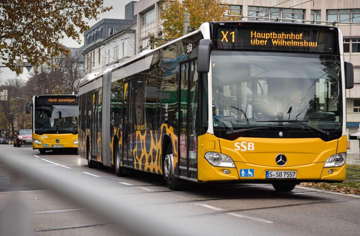 Der Unfall zwischen dem X1 und dem VW ereignete sich am Cannstatter Wilhelmsplatz. (Symbolbild) Foto: Lichtgut/Max Kovalenko/Lichtgut/Max Kovalenko