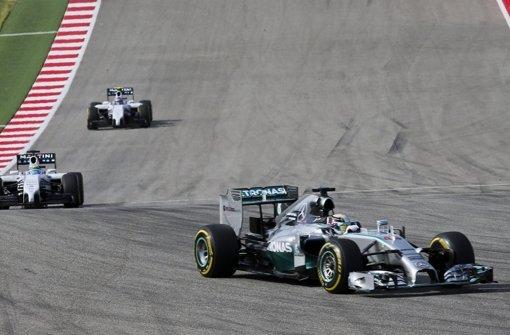 Hamilton triumphiert vor Rosberg