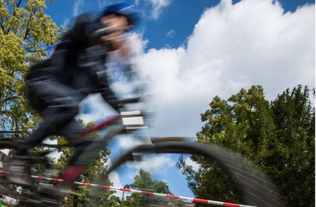 Heftig gekracht hat es zwischen einem Pedelec-Fahrer und einer Mountainbikerin. Foto: Lichtgut/Christoph Schmidt/Christoph Schmidt