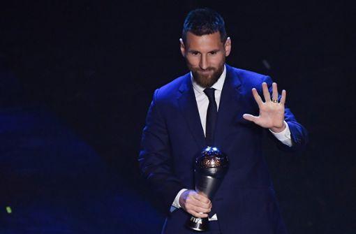 Messi wird zum sechsten Mal zum Weltfußballer gewählt