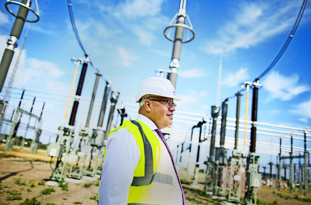 """Altmaier ist im Rahmen seiner """"Tour de Strom"""" in Niedersachsen und in Nordrhein-Westfalen unterwegs. Foto: dpa"""
