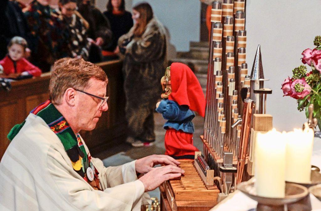 Die neue Kindernarrenorgel wird in der Stadtkirche Peter und Paul feierlich eingeweiht. Foto: factum/Bach