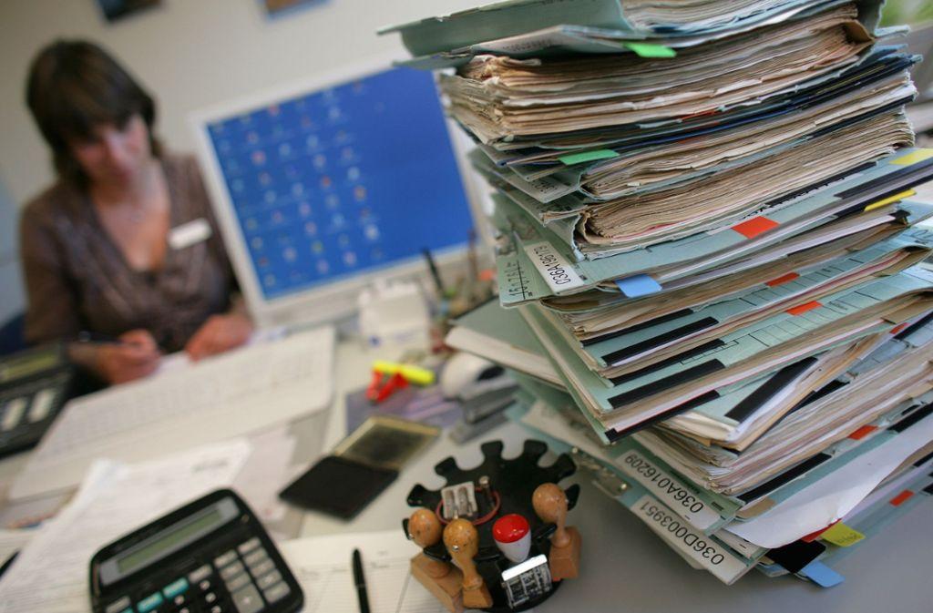 Der DIHK fordert von der Politik, den Bürokratieabbau wie versprochen voranzutreiben. Foto: dpa