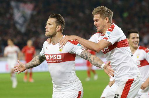 Ginczek und Terodde: Rivalen oder Partner?