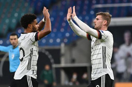 Deutsche Nationalmannschaft gewinnt gegen die Ukraine