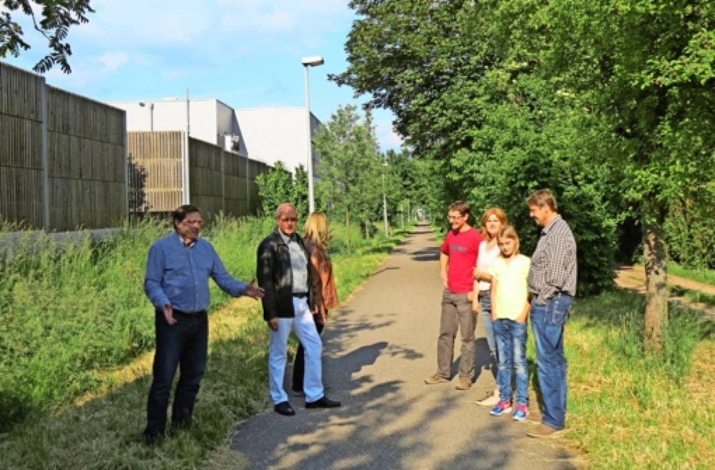 Der Korridor für die zweigleisige Bahnstrecke ist nach Einschätzung der betroffenen Anwohner in Sielmingen zu eng. Foto: Otto-H. Häusser