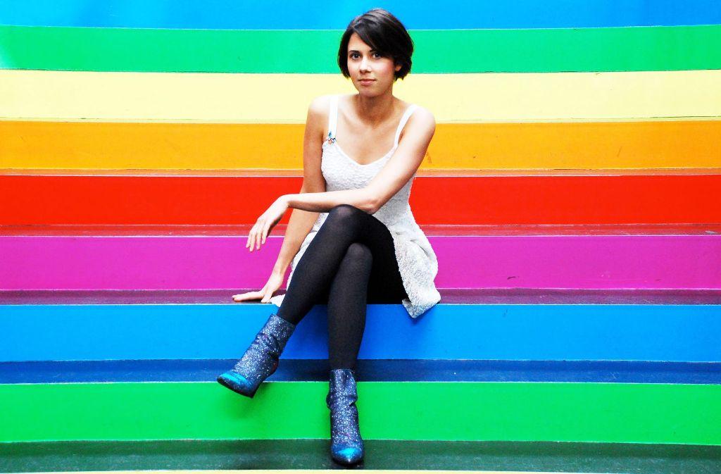 Farben finden: kein  Problem für die Jazzmusikerin  Olivia Trummer Foto: Veranstalter