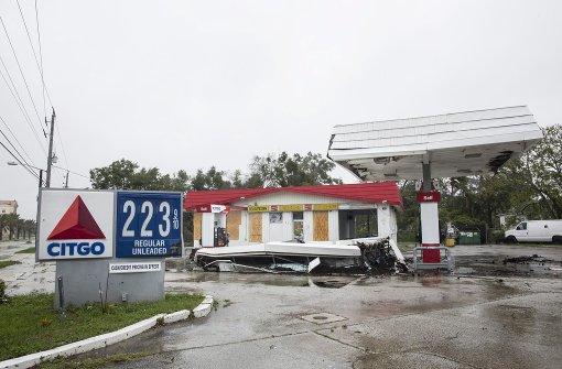 """Hurrikan """"Matthew"""" schrammt an Florida vorbei"""