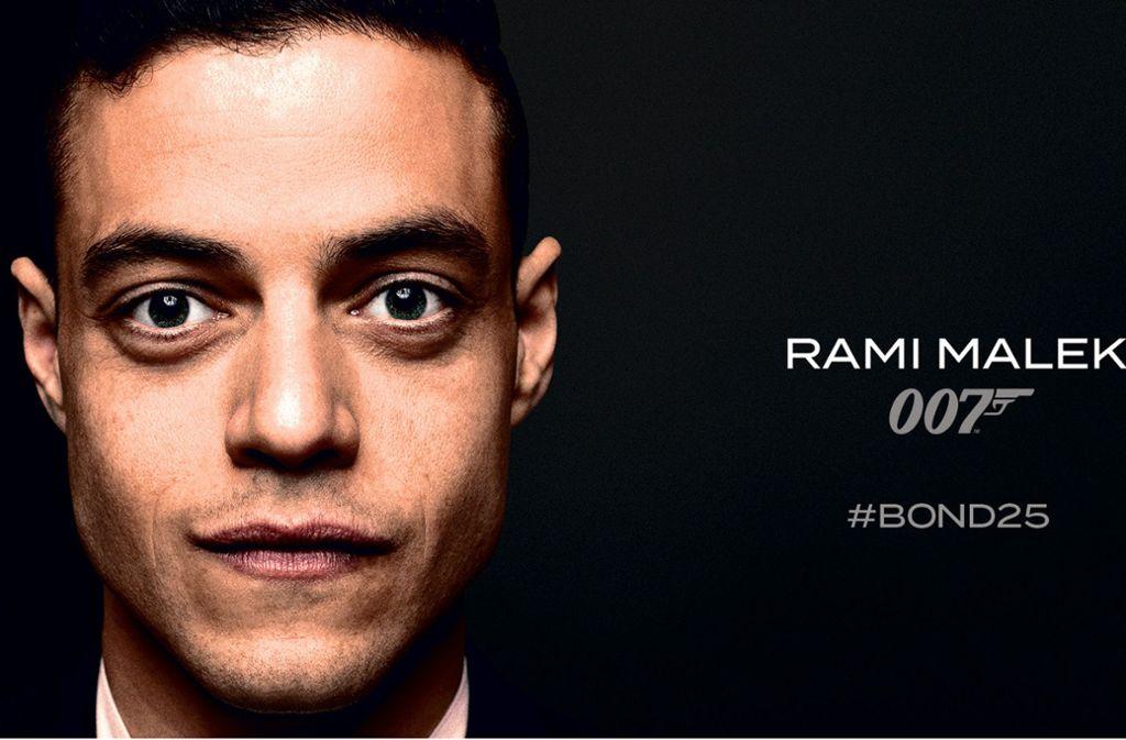 Ihm ist zuzutrauen, dass er 007 auf Trab bringt: der US-Schauspieler Rami Malek Foto: UIP