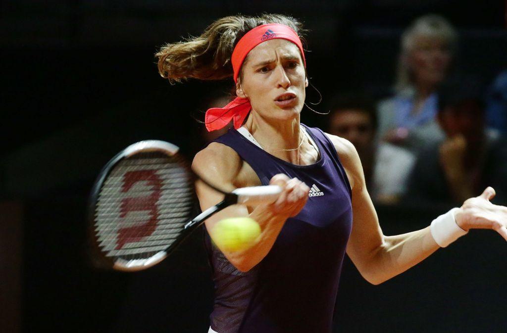 Andrea Petkovic hat die Erstrunden-Aufgabe souverän gemeistert. Foto: Pressefoto Baumann