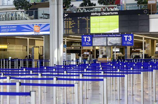 Verdi ruft bundesweit zu Protestaktionen an Flughäfen auf