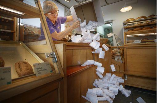 So protestiert ein Bäcker aus Winnenden gegen die Bürokratie