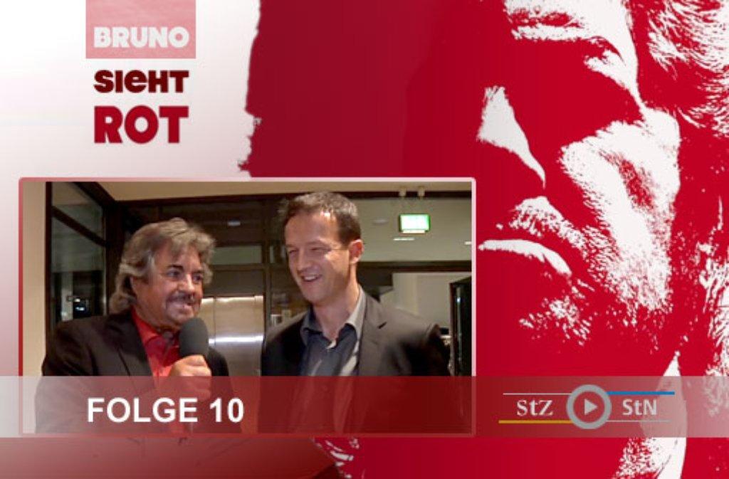 In der 10. Folge von Bruno sieht rot kommen Martin Harnik und Fredi Bobic zu Wort. Hier einige Fotos der Dreharbeiten: Foto: SIR