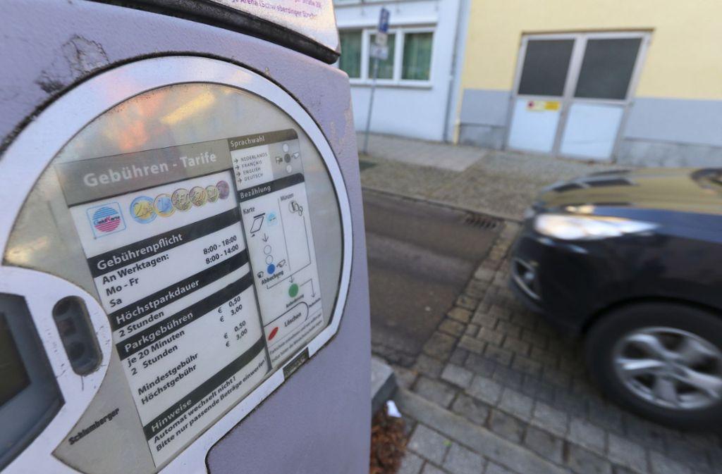 Könnten bald verschwinden: Parkautomaten in Ludwigsburg. Foto: factum/Granville