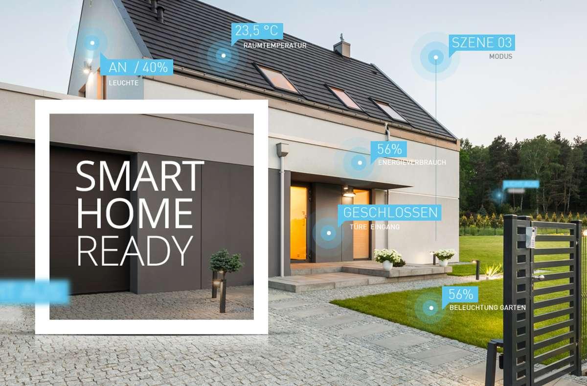 """Wer heute baut oder renoviert, kann das eigene Haus mit kleinem Geld """"Smart Home Ready"""" ausrüsten. Foto: SYS.TEC"""