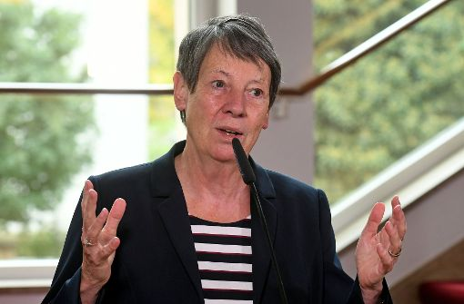 Umweltministerin Barbara Hendricks hat geheiratet