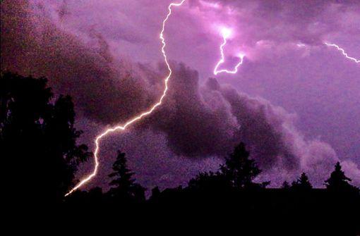 Zwei deutsche Bergsteiger von Blitz getroffen
