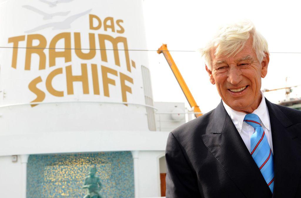 """Traumschiff""-Kapitän Siegfried Rauch ist tot. Foto: dpa"