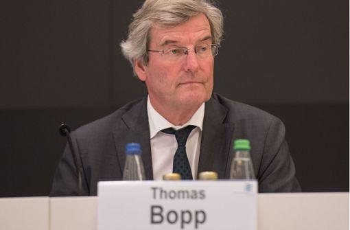 Regionalpräsident Bopp will sein Amt behalten