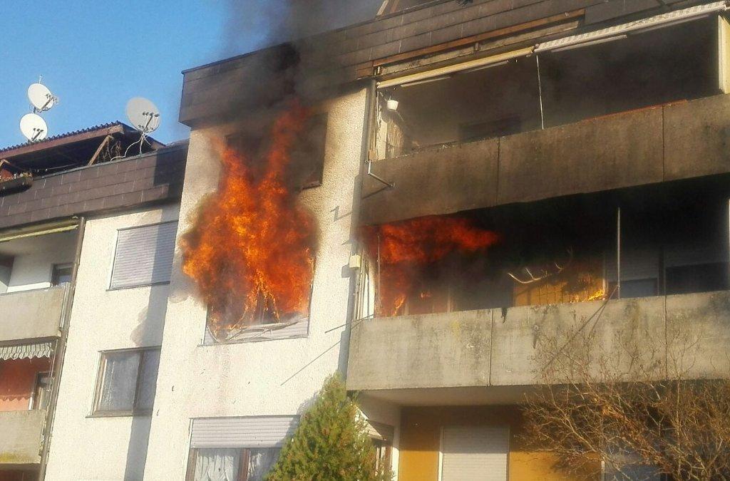 Ein Brand in Gammelshausen hat am Donnerstag die Feuerwehr beschäftigt. Foto: 7aktuell.de | Sabrina Müschke