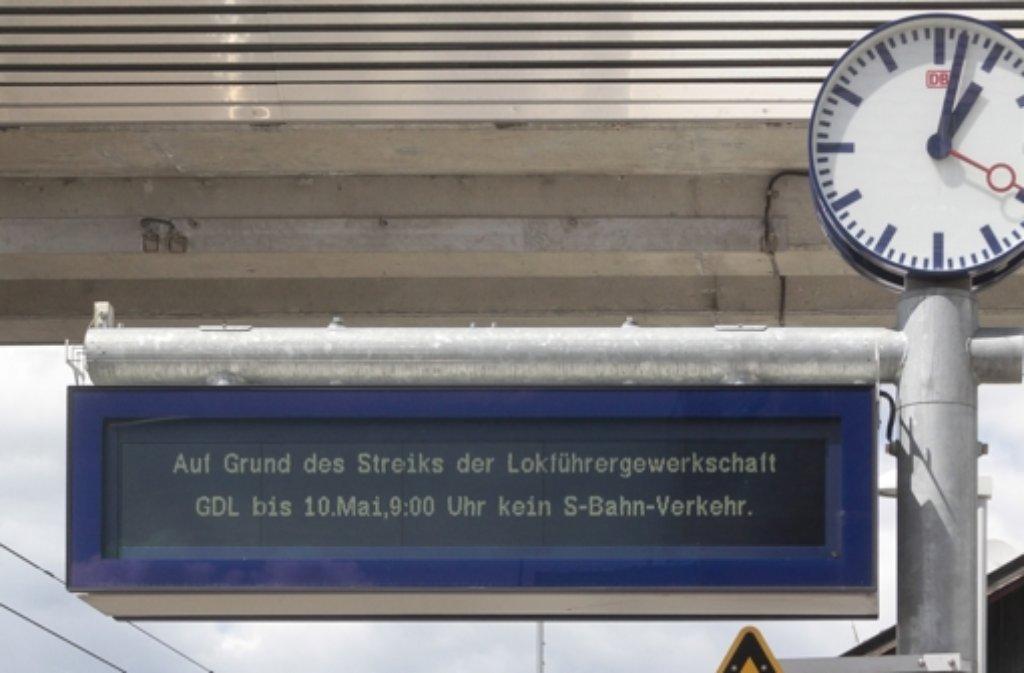 Der Streik der Lokführer hat neben den Fahrgästen noch andere Leidtragende. Foto: factum/Granville