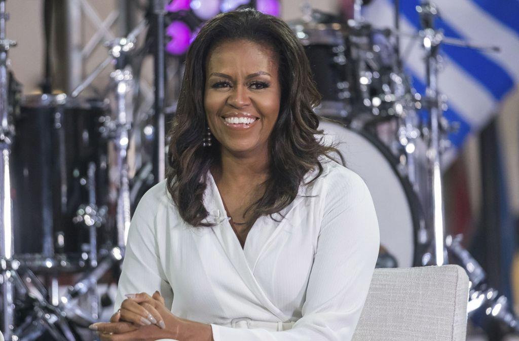 Michelle Obama zeigte sich nun von ihrer musikalische Seite Foto: AP/Charles Sykes