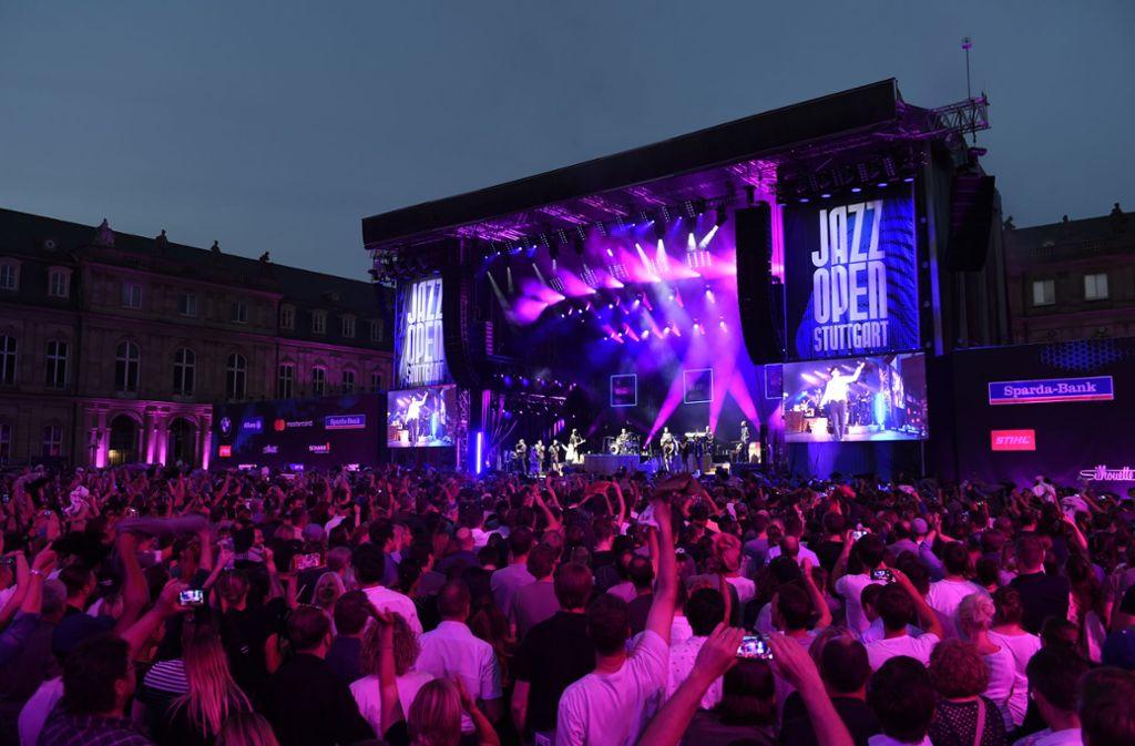 Der Schlossplatz bleibt in diesem Jahr leider unbespielt. Foto: Opus/Reiner Pfisterer