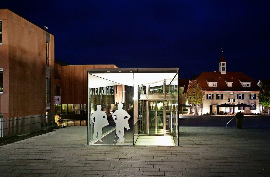 Vielleicht wird auch über den Rathausplatz diskutiert, Er ist vielen zu kahl. Foto: factum/Archiv