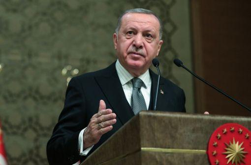 Machtkampf um Erdogans Traum