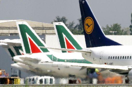 Fluglinie bietet für Teile von Alitalia