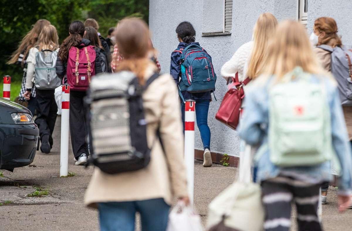Rückkehr in den Präsenzunterricht – steigen in der Folge die Infektionszahlen? Foto: Lichtgut/Christoph Schmidt