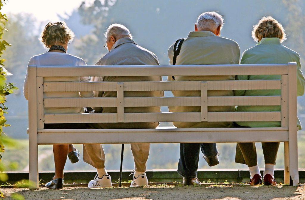 Senioren sollen sich in Filderstadt  initiativ werden. Foto: dpa