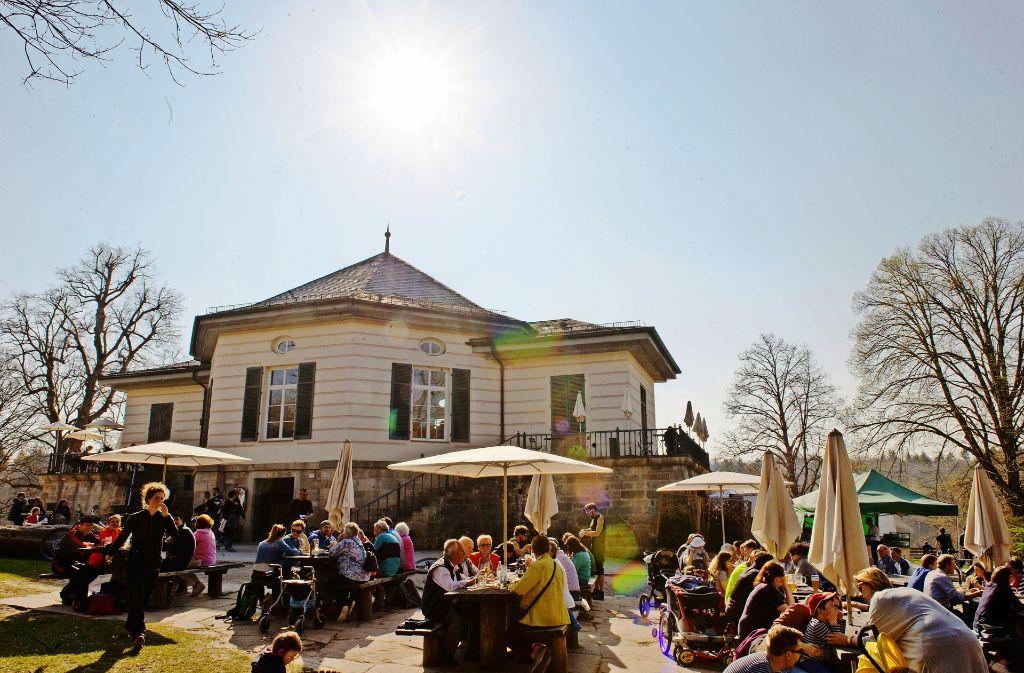 Das  Bärenschlössle im Rotwildpark zählt zu den beliebtesten Stuttgarter Ausflugszielen. Foto: