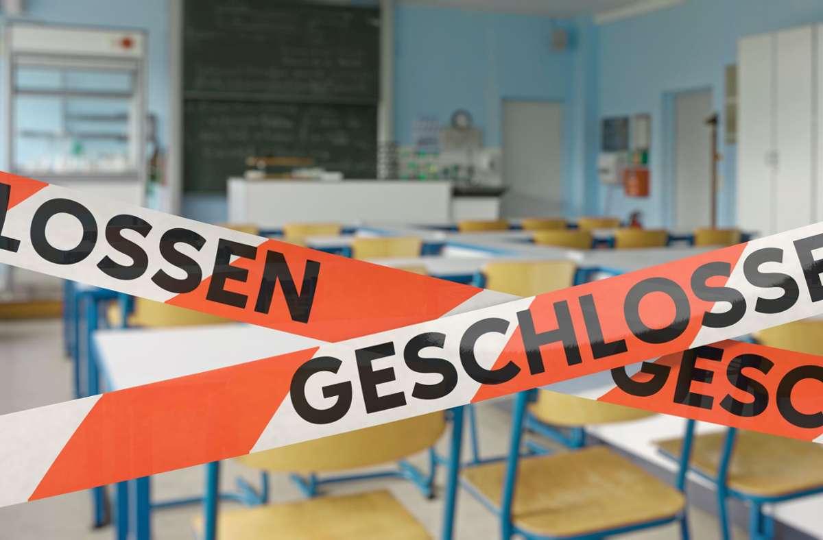 Die Schule in Achberg (hier ein Symbolbild) ist wieder halb leer. Von den 70 Schülern sind 40 in Quarantäne. Foto: bluedesign - stock.adobe.com/Oliver Boehmer