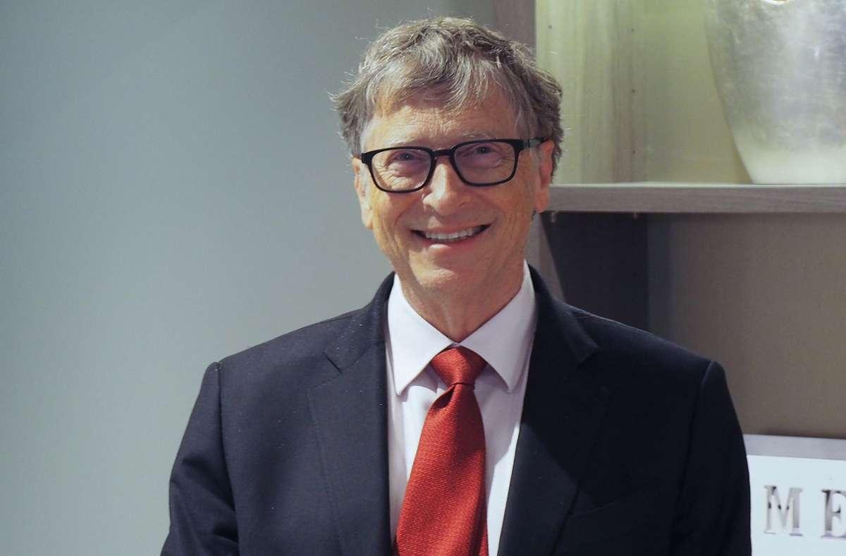 Bill Gates ist nun auch gegen Corona geimpft. (Archivbild) Foto: dpa/Christian Böhmer