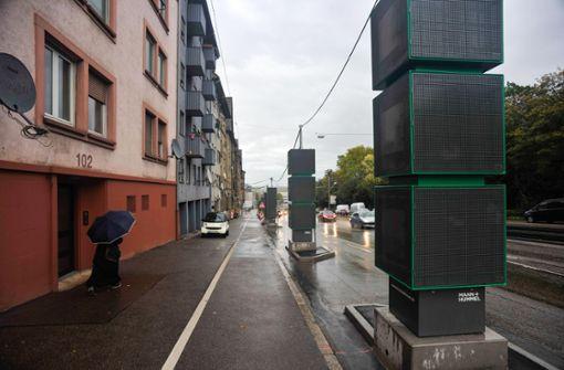 Pragstraße bleibt beim Stickstoffdioxid ein Problemfall