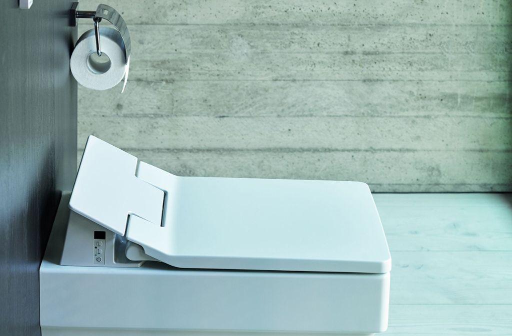 Innovative Toilettentechnik – von deutschen Unternehmen in China erforscht. Foto: Duravit