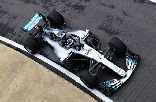 Mercedes stellt den neuen Silberpfeil W09 vor