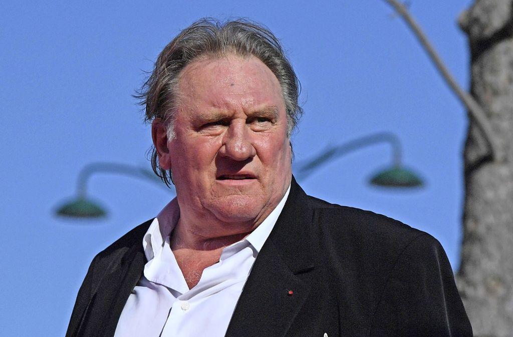 Der legendäre französische Filmstar Gerard Depardieu soll eine junge Schauspielerin vergewaltigt haben. Foto: AFP