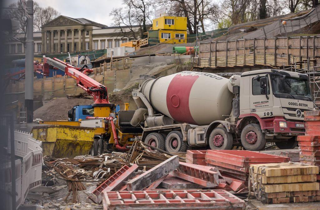 Mitte 2021 soll der Rosensteintunnel zwischen dem Neckar und dem Pragsattel eröffnet werden. Foto: Lichtgut/Max Kovalenko