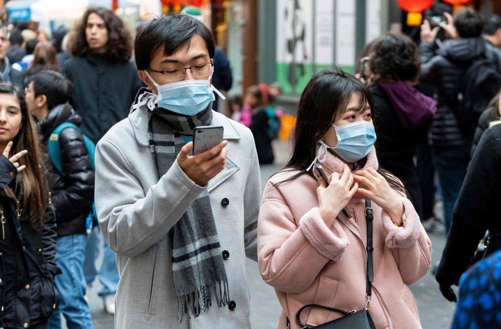Welche Informationen zum Coronavirus sind richtig? Die WHO und Google wollen Klarheit schaffen. Foto: AFP/NIKLAS HALLEN
