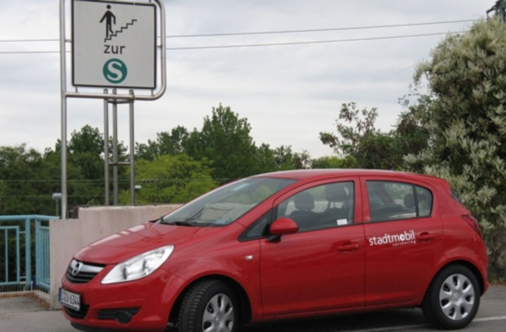 Im Kreis Böblingen gibt  es immer mehr Stadtmobil-Standorte. Foto: Stadtmobil