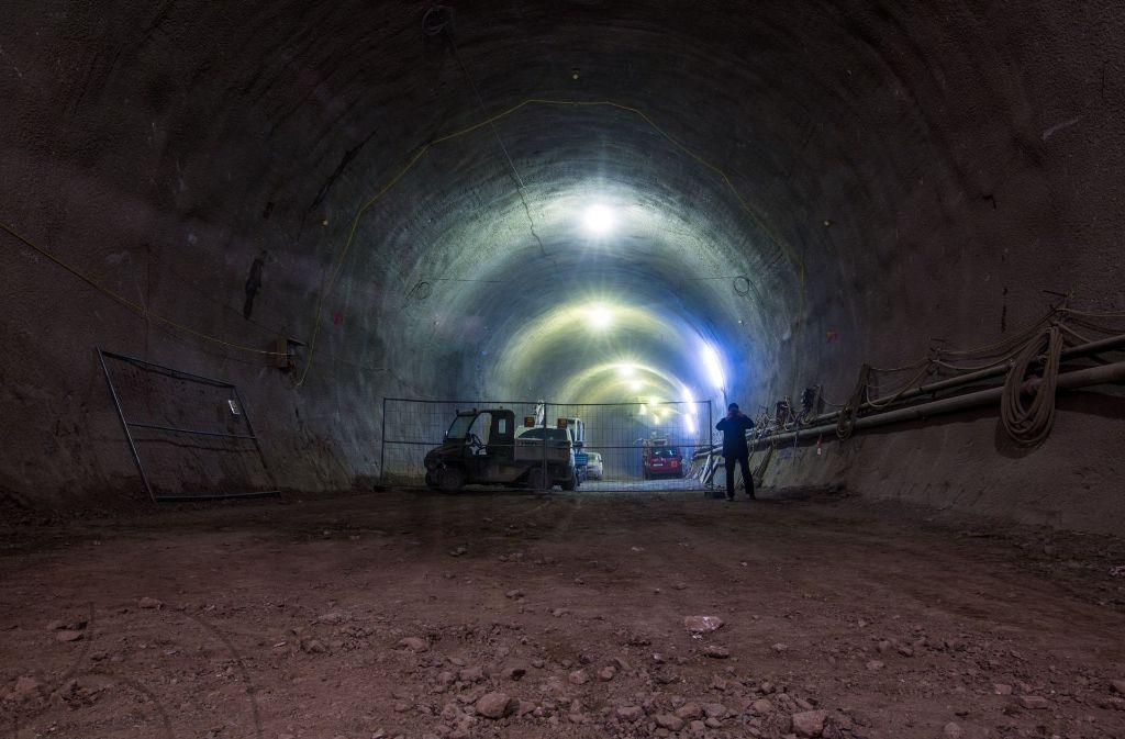 Für Stuttgart21 entstehen knapp 60 Kilometer Tunnel unter der Stadt und auf den Fildern. Foto: dpa